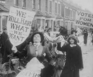 feminism, Right, and vote image