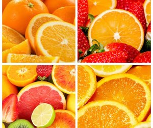 fruit, orange, and laim image