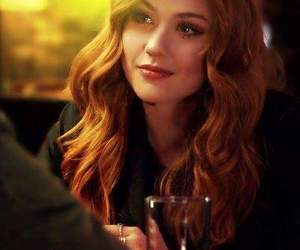 katherine mcnamara, clary fray, and shadowhunters image
