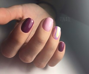 fashion, fingers, and girl image