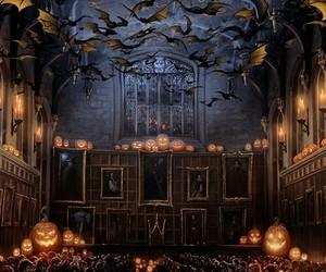 harry potter, Halloween, and hogwarts image