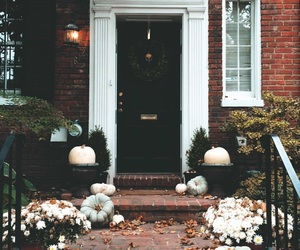 aesthetic, automne, and facade image