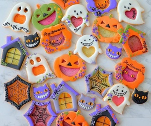 biscuits, pumpkins, and treats image