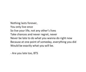 inspiration, life, and Lyrics image