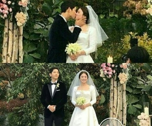 korean, song song couple, and wedding image