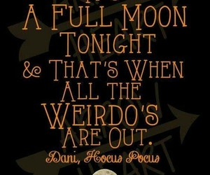 Halloween, weirdo, and full moon image