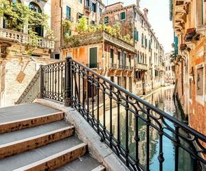 city, romantic, and venice image
