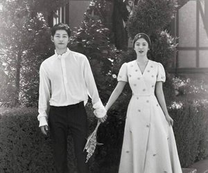 love, couple, and song hye kyo image