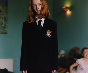 boy, ginger, and school uniform image