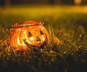 Halloween, autumn, and lantern image
