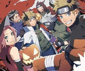 naruto, kakashi, and team 7 image