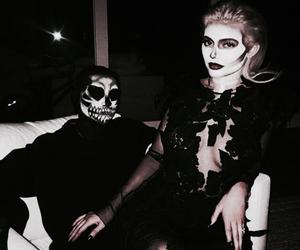 kylie jenner, Halloween, and tyga image