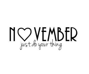 autumn, hello, and november image