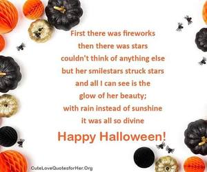 Halloween, poem, and quote image