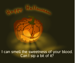 pumpkin, questions, and Halloween image