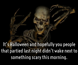 ghost, Halloween, and quotes image