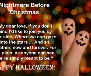Halloween, happy halloween, and halloween romance image