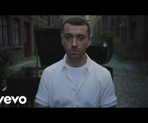 music, sam smith, and video image