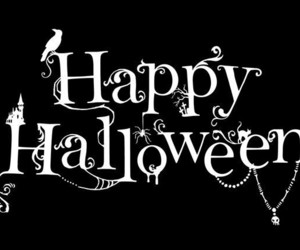 Halloween and happy halloween image