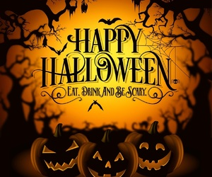 Halloween, jack o lantern, and paranormal image
