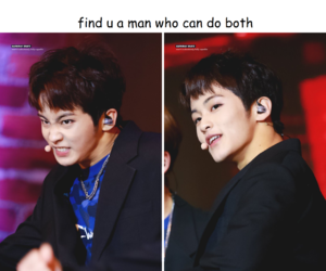 mark lee, nct, and lee minhyung image