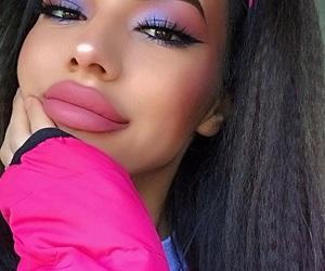 beauty, ig model, and eye makeup image