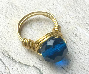 accessories, boho ring, and boho jewelry image