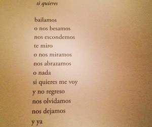 frases, love, and bailamos image