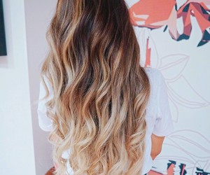 hairstyle, blonde, and hair image