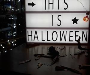 autumn, dark, and Halloween image