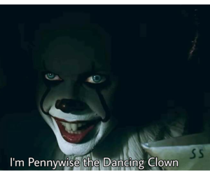 clown, Halloween, and it movie image