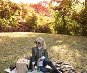 autumn, blonde, and cool image