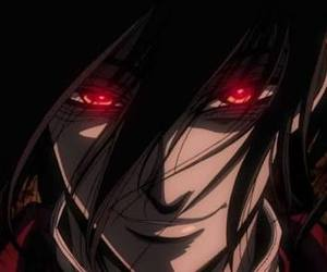 alucard, anime, and hellsing image