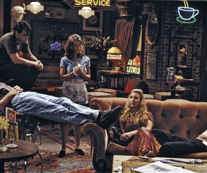 friends, tv show, and cafe image