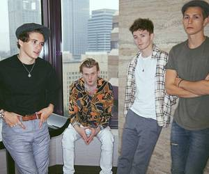 the vamps, brad simpson, and tristan evans image