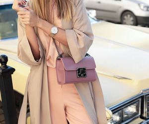 beige, fashion, and pink image
