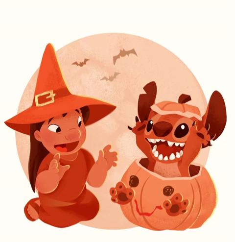 Cute Disney Halloween Wallpaper