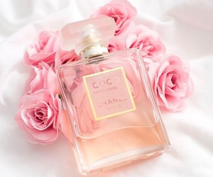 pink, rose, and chanel image