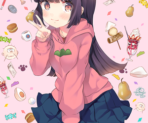 anime, anime girl, and todomatsu image