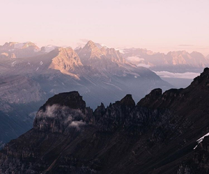 mountains, aesthetic, and nature image