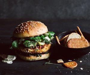 biscuit, bun, and burger image