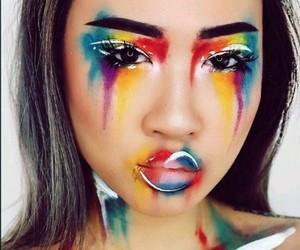 colourful, creative, and eyeshadow image