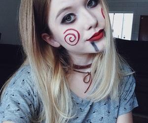 alternative, blonde, and costume image