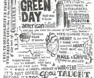 green day, music, and band image