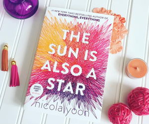 book and the sun is also a star image