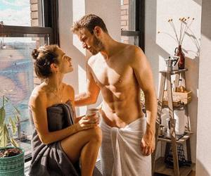 coffee, couple, and couples image