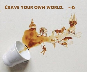 coffee, world, and random words image