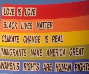 love, equality, and lgbt image