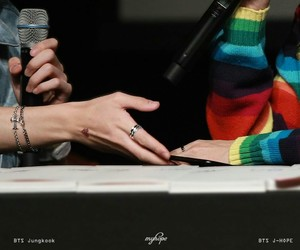 hands, jhope, and jungkook image