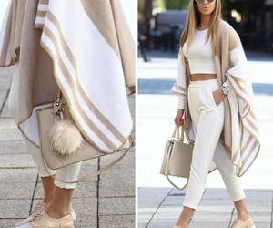 beige, luxury, and scarf image